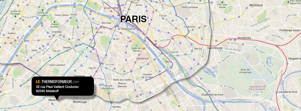 VOTRE PARTENAIRE THERMOFORMAGE AUX PORTES DE PARIS